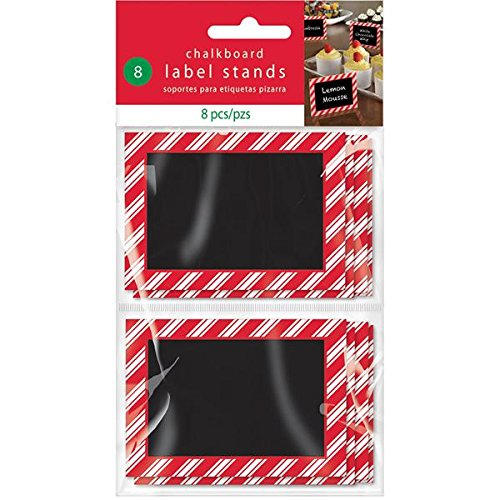 christmas place cards, chalkboard place cards