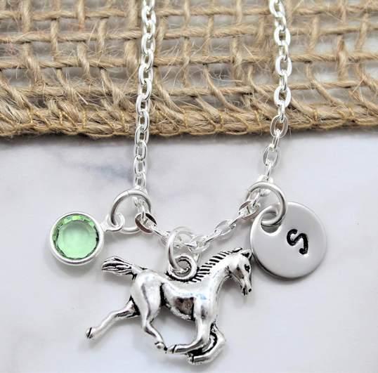 Sigmo Creations Horse Necklace
