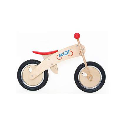 wooden balance bike for toddlers