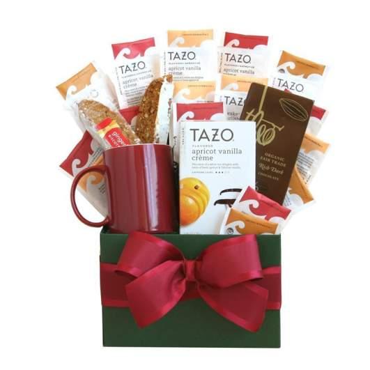 Tazo Tea Sampler Gift Basket