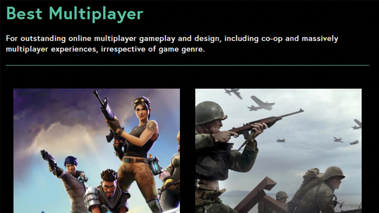 the game awards best multiplayer, the game awards 2017 best multiplayer