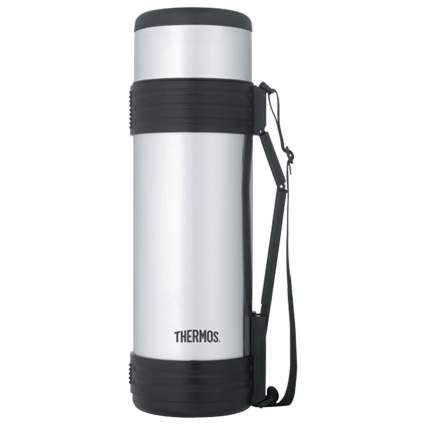 thermos, ice fishing, stainless steel thermos