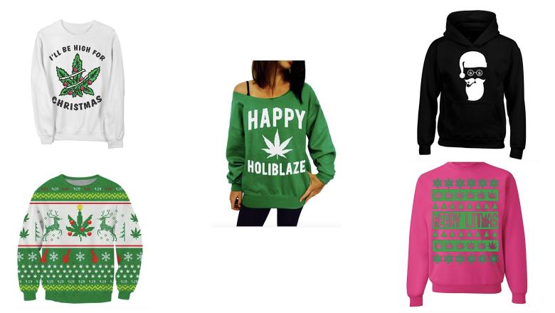 best weed christmas sweaters, best weed sweaters, weed sweaters, christmas weed sweaters