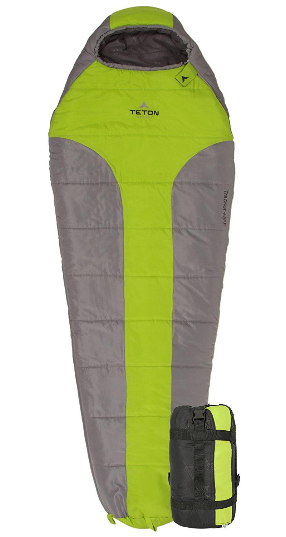 teton sports, sleeping bag, backpacking, hiking sleeping bag