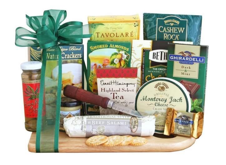 Ultimate Gourmet Cheeseboard Gift Basket