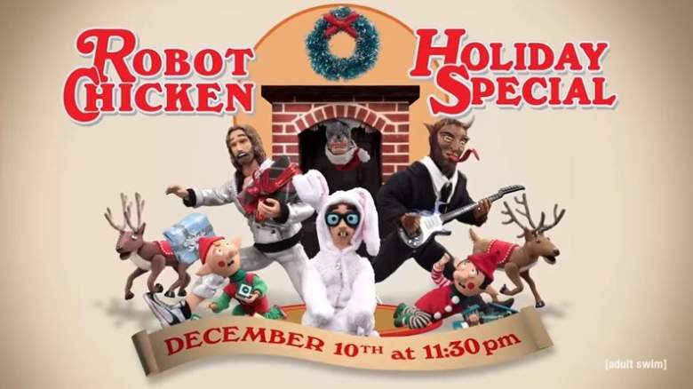 Robot Chicken Live Stream, Christmas Special, Free, Season 9 Premiere, How to Watch, Without Cable