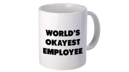 worlds-okayest-employee-mug