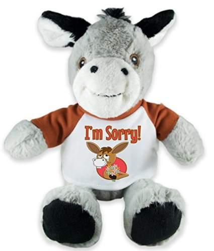 apology gift, sorry gifts, stuffed donkey