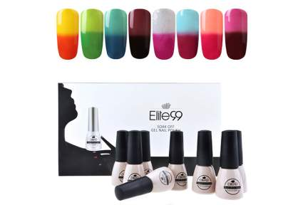 color changing nail polish, mood nail polish, color changing gel polish, mood gel polish