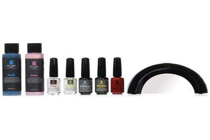 Red carpet gel nail polish