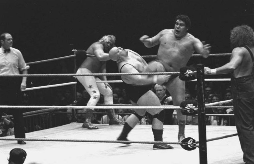 Andre the giant in the ring