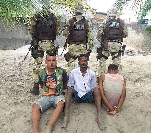 Suspected Brazilian gang