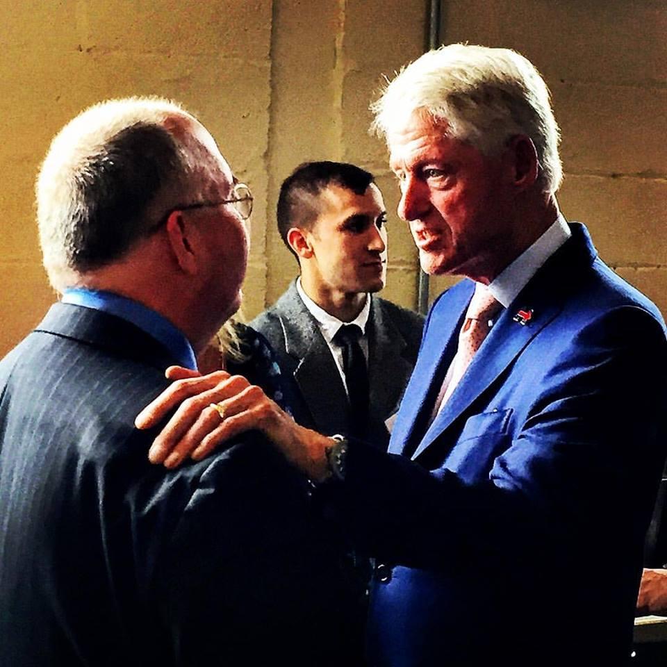 Burns Strider Bill Clinton
