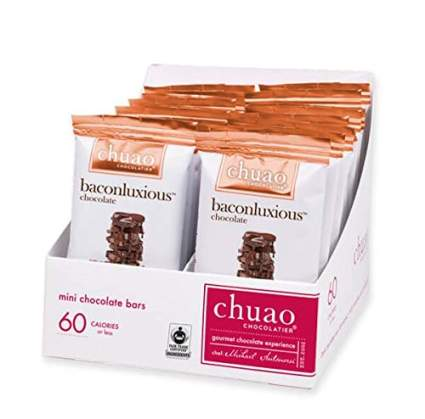 chuao chocolate bacon bars