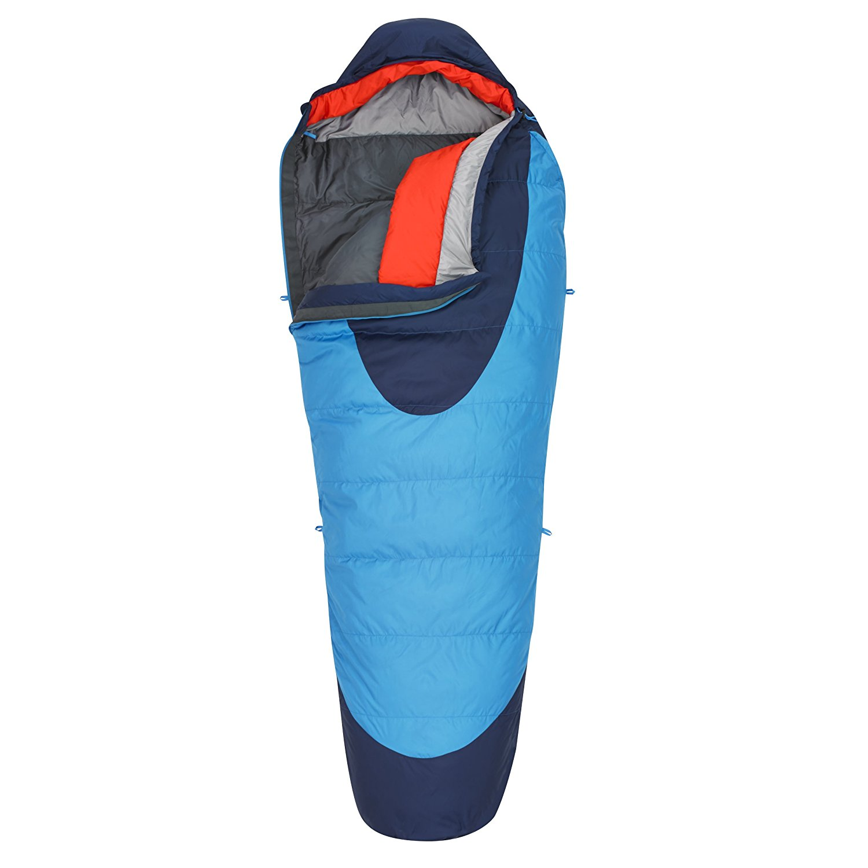 kelty, sleeping bag, backpacking, hiking, light weight sleeping bag