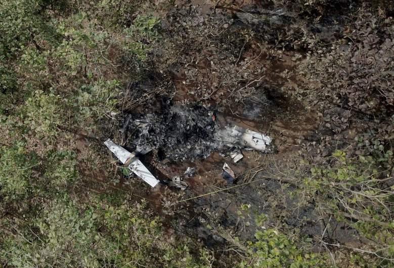 costa rica plane crash victims