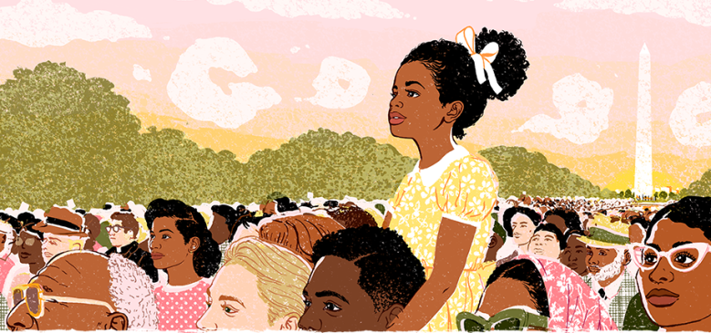 martin luther king day 2018, google doodle