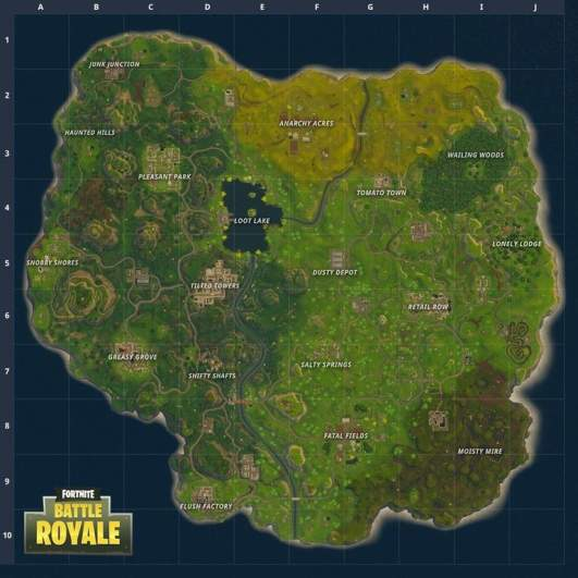 fortnite map, fortnite new map, fortnite map changes, fortnite new map locations