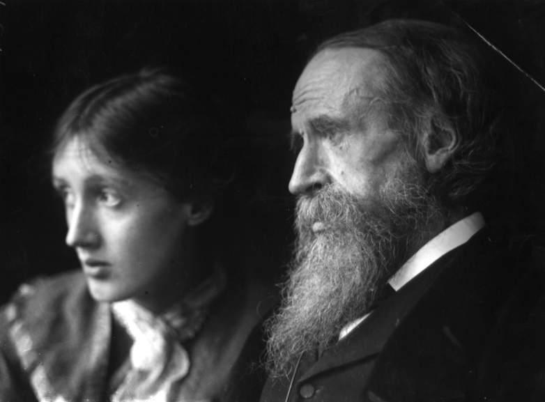 Virginia Woolf father, Sir Leslie Stephen