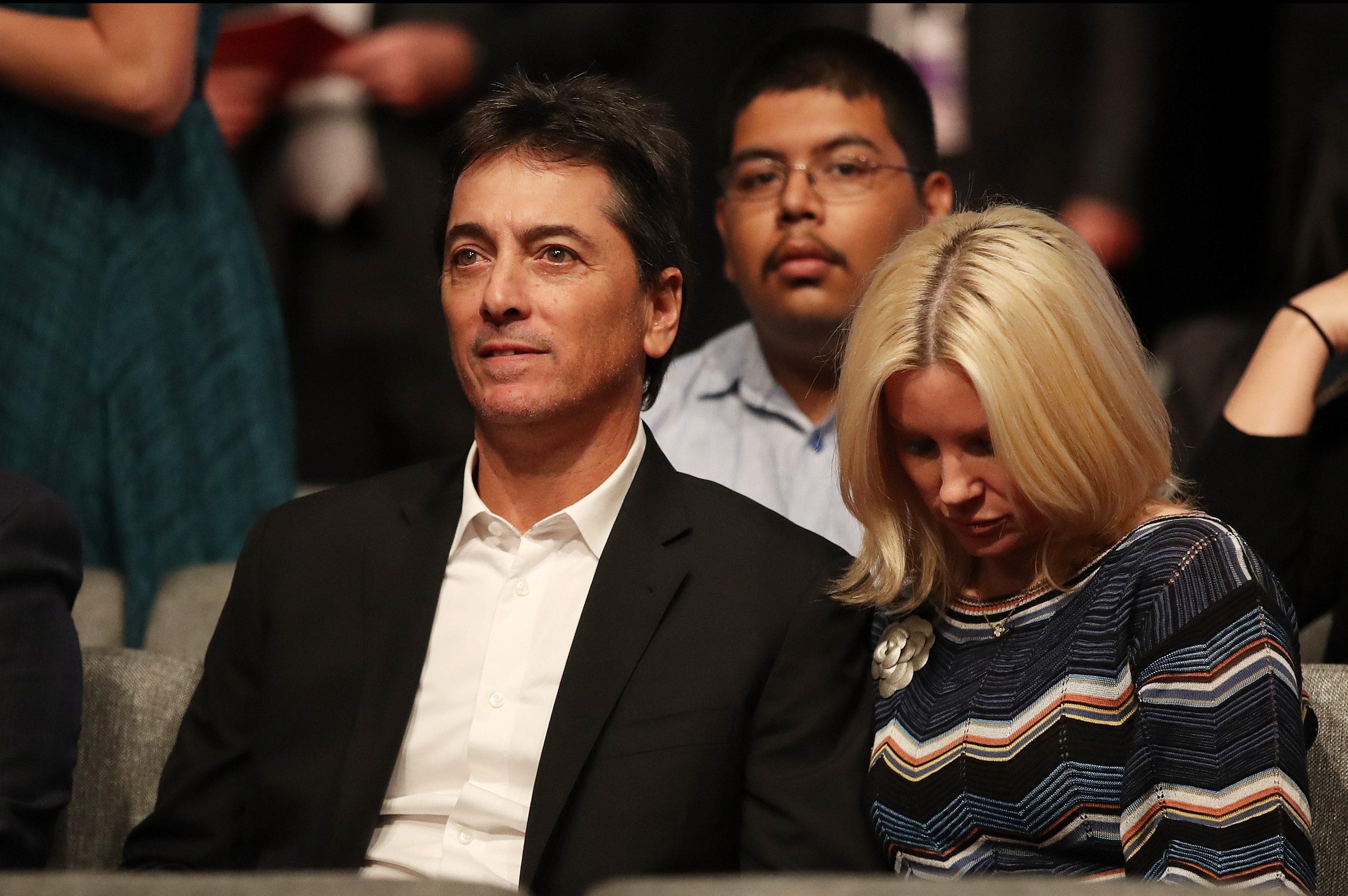 Scott Baio, wife, Renee Sloan, debate