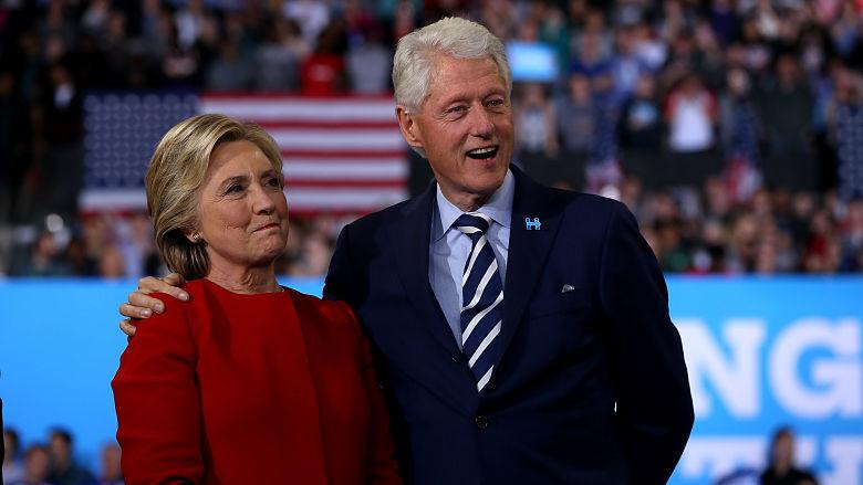 Hillary Clinton house fire