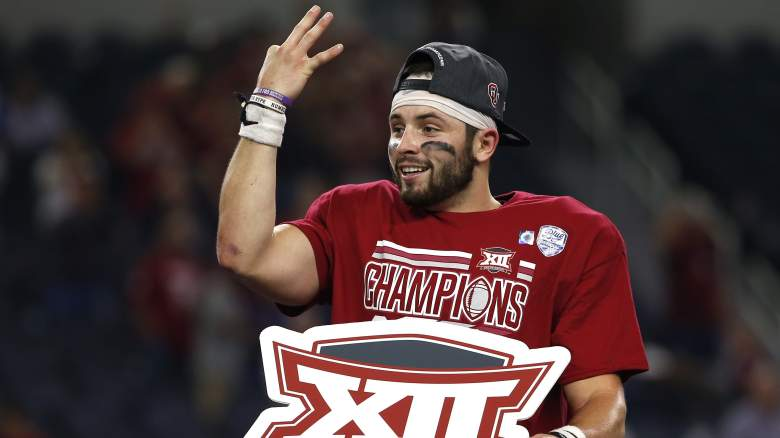 baker mayfield, baker mayfield sick, mayfield injury, where is baker mayfield