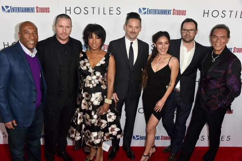 hostiles cast