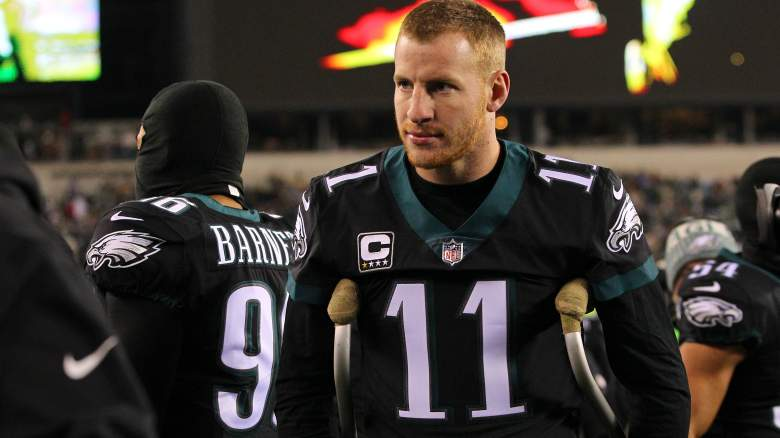 Carson Wentz Injury Update Eagles Qb Returns Next Season Heavy Com