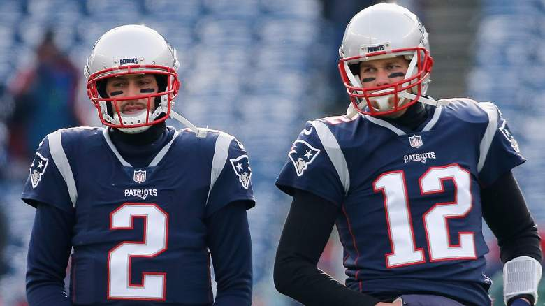 patriots backup quarterback, qb, tom brady, brian hoyer