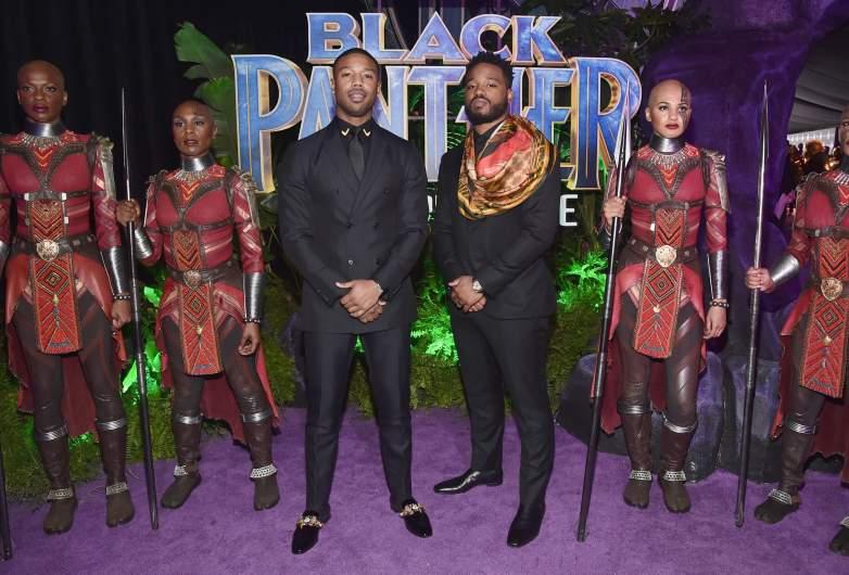 Black Panther premiere, Michael B Jordan Black Panther