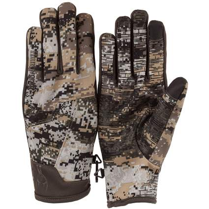 Huntworth, hunting gloves, shooting gloves, camo gloves, winter hunting