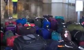 jfk water break, jfk evacuation