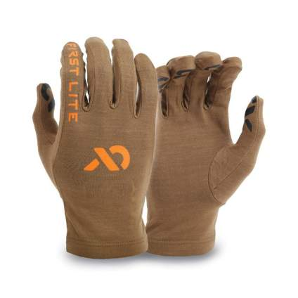 first lite, hunting liners, hunting gloves, glove liners, shooting gloves