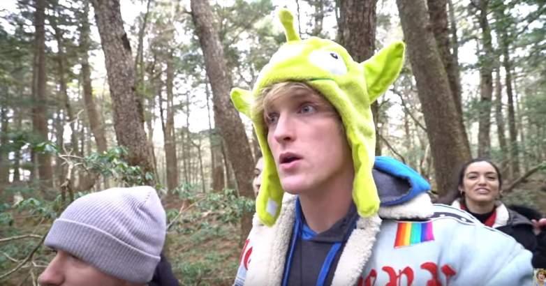 Logan Paul, Suicide Forest Vlog