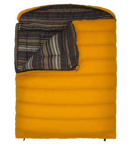 teton sports, sleeping bag, two person sleeping bag, romantic gift, camping gift