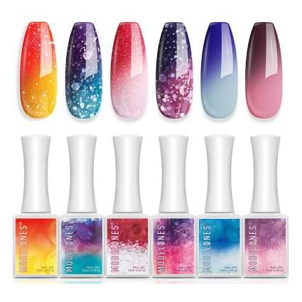 modelones thermal nail polish