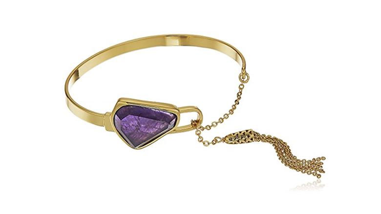 february birthstone, birthstone jewelry, birthstone earrings, amethyst jewelry, amethyst bracelet, birthstone bracelets, gemstone bracelets, bangle bracelets