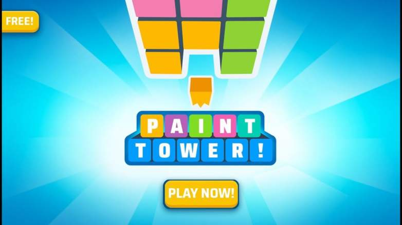 Paint Tower! Game