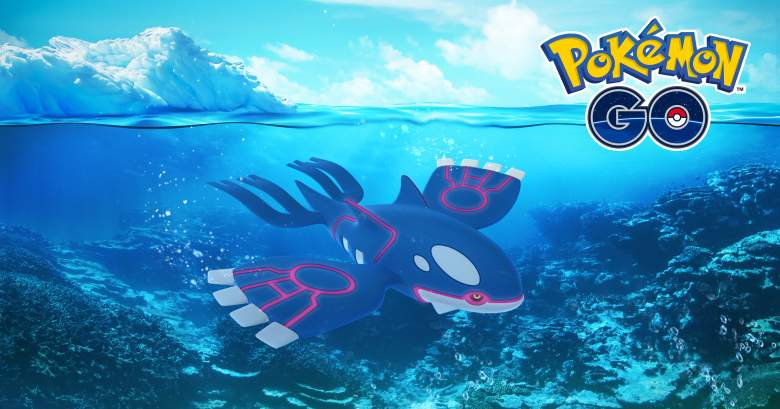 pokemon go kyogre, pokemon go kyogre raid, pokemon go kyogre max cp