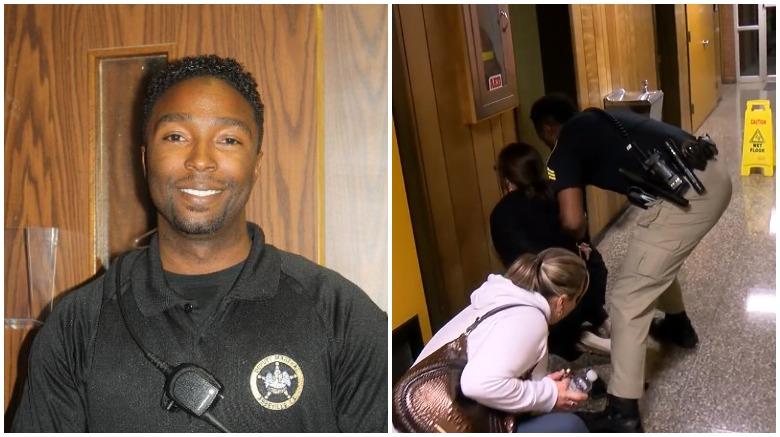 reggie hilts, reggie hilts louisiana, louisiana teacher arrest video officer