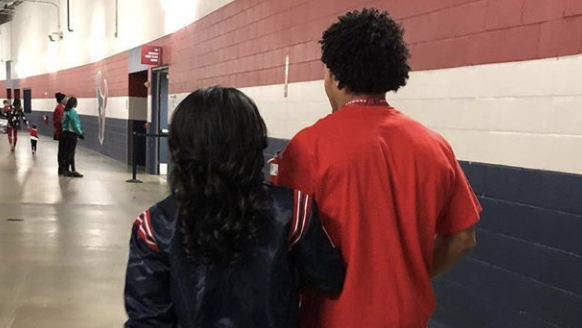 Simone Biles Instagram, Simone Biles and Stacey Ervin Jr.