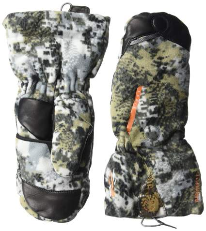 sitka gear, hunting gloves, hunting mittens, camo gloves, winter hunting