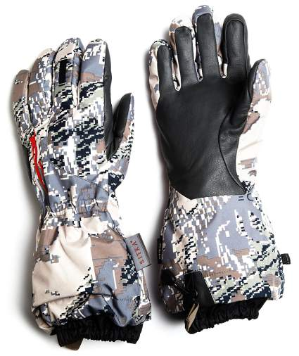 sitka gear, hunting gloves, winter gloves, camo gloves