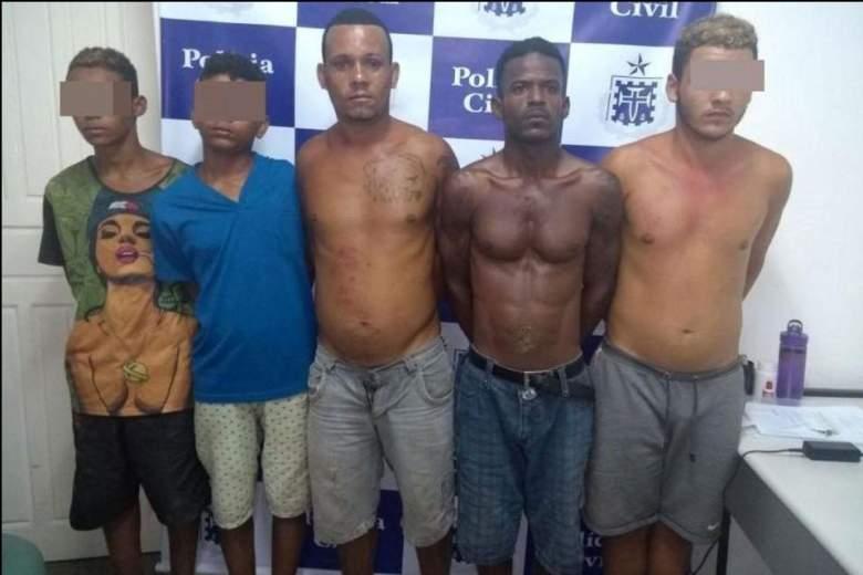 Suspects - Brazil rape and murder