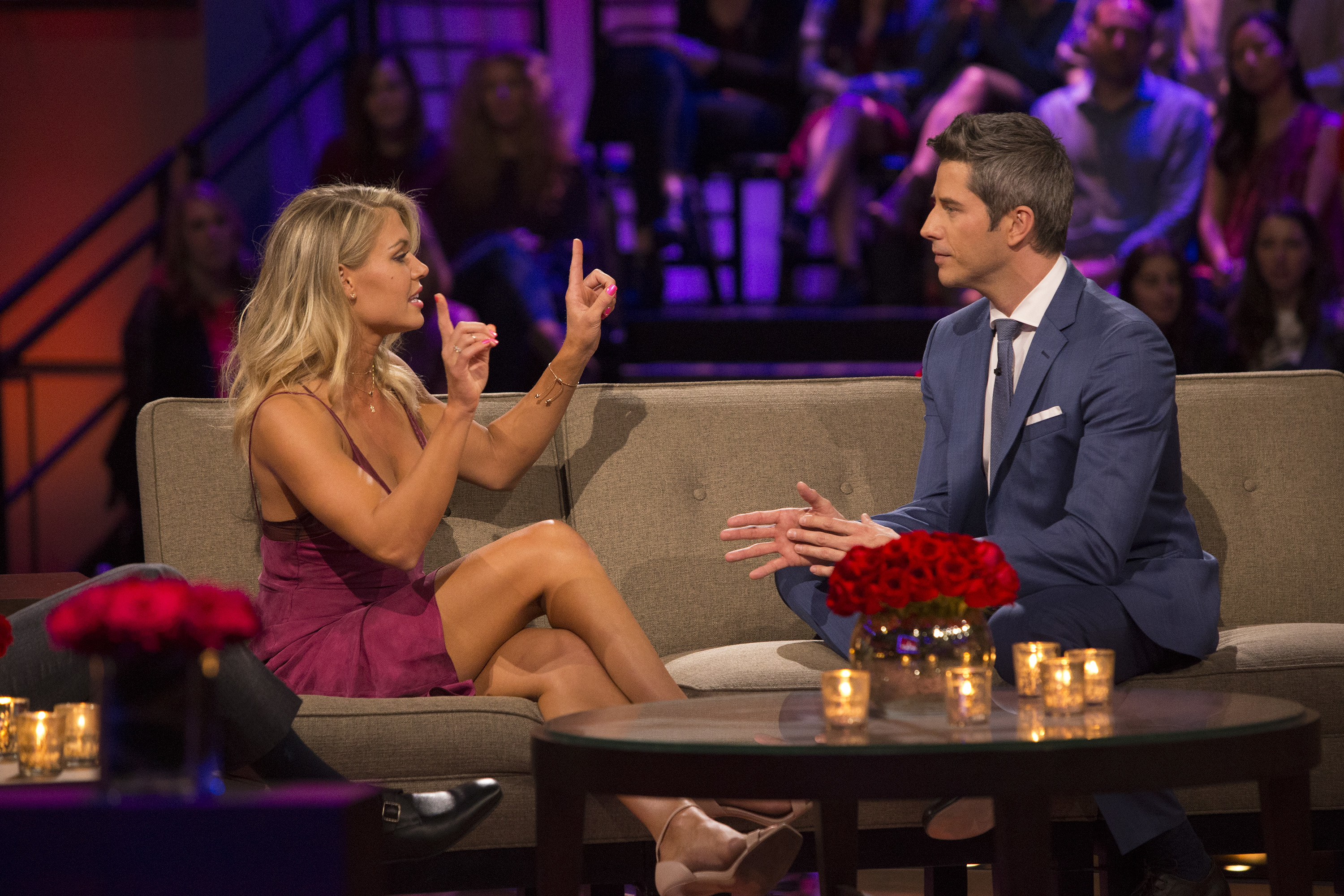 Krystal Nielson And Arie Luyendyk, The Bachelor 2018 Women Tell All