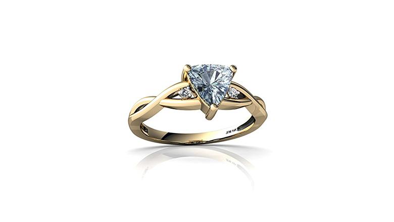 aquamarine ring, aquamarine jewelry, aquamarine engagement rings