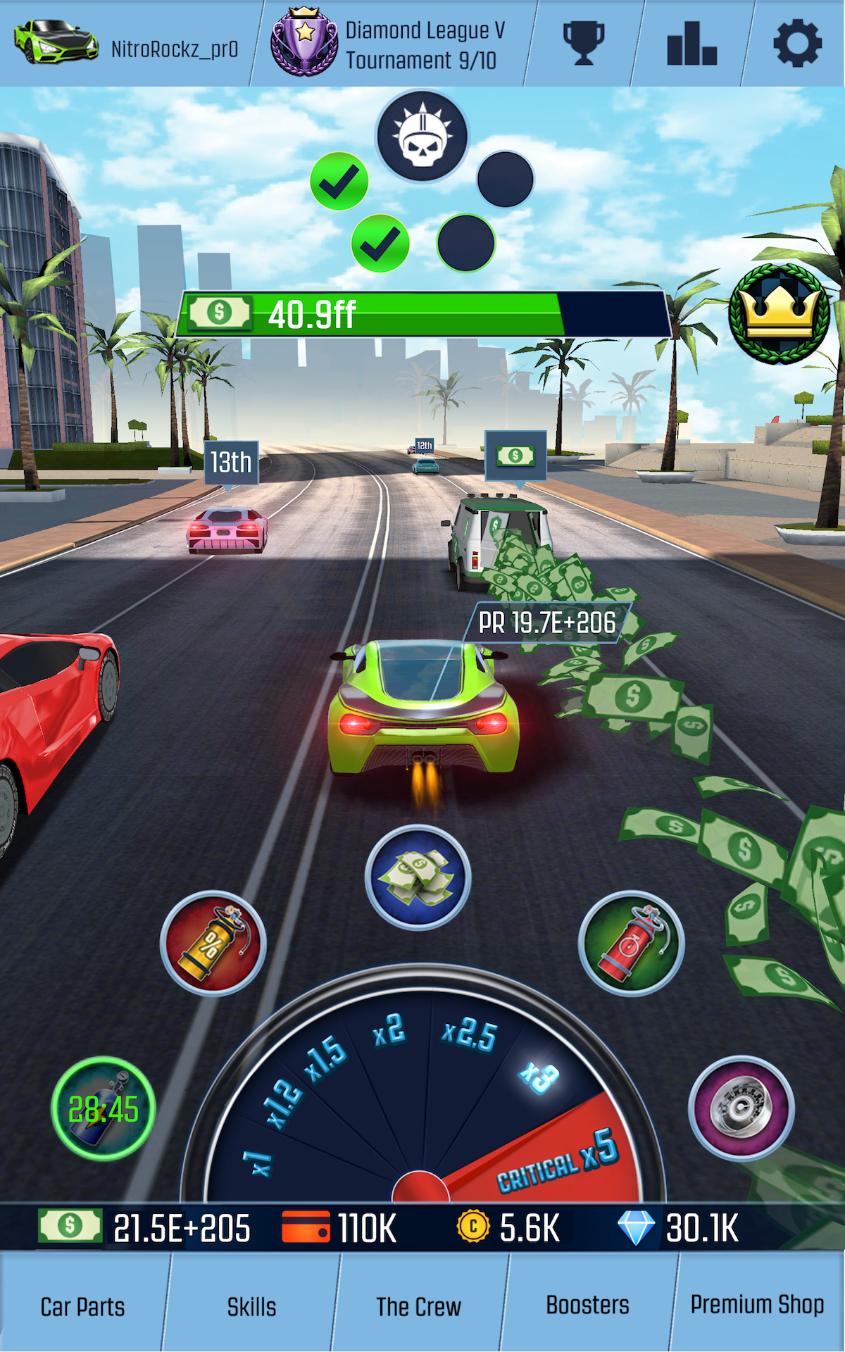 Nitro Racing GO: Idle Clicker