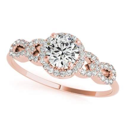 Rose gold engagement rings, engagement rings, rose gold rings