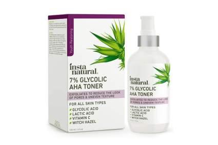 glycolic acid toner with vitamin C