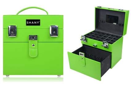 Green SHANY makeup case